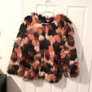 Urban outfitter faux fur coat